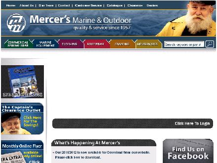 Mercer's Marine Equipment Ltd (709-466-7430) - Website thumbnail - https://www.mercersmarine.com/