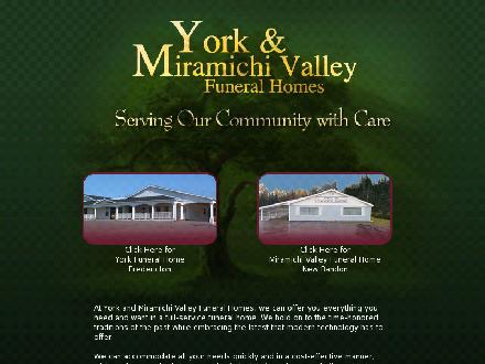 York Funeral Home Ltd (1-877-757-9746) - Website thumbnail - http://www.yorkfh.com
