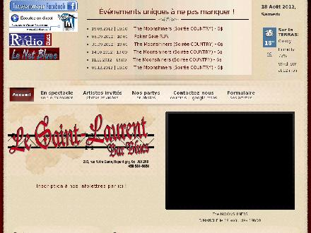 St-Laurent (Le) (450-581-5651) - Website thumbnail - http://www.lesaint-laurentbar.com