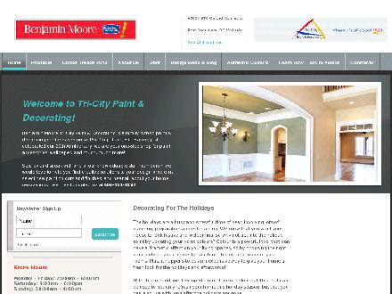 Benjamin Moore Tri-City Paint & Decorating Ltd (604-464-6162) - Website thumbnail - http://www.tricity.benmoorepaints.com