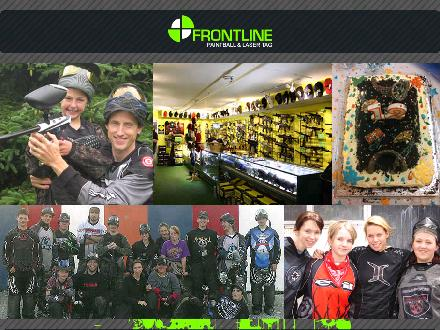 Frontline Paintball and Laser Tag (709-747-4653) - Onglet de site Web - http://www.frontlinepaintball.com