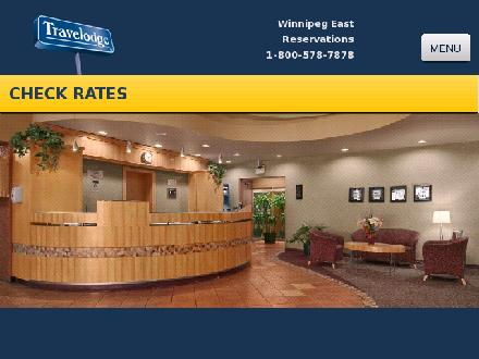 Travelodge Winnipeg East (204-255-6000) - Onglet de site Web - http://www.travelodgewinnipeg.com