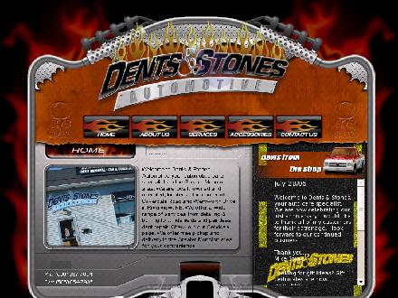 Dents and Stones Automotive (506-387-7064) - Onglet de site Web - http://www.dentsandstones.com