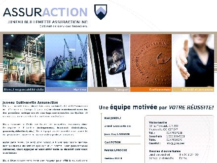 Juneau Guillemette Assuraction Inc (819-758-7231) - Onglet de site Web - http://www.jgass.com