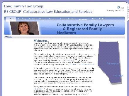 Long Family Law (1-888-716-9888) - Onglet de site Web - http://www.longlaw.ca