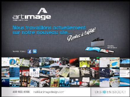 Art Image Communication Design (450-922-1666) - Onglet de site Web - http://www.artimagedesign.com