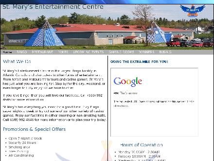 St Mary's Entertainment Centre (1-888-992-4646) - Website thumbnail - http://www.stmec.com