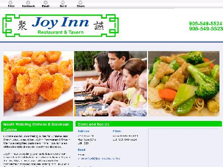 Joy Inn Restaurant & Tavern (905-549-5523) - Website thumbnail - http://joyinnrestaurant.ca