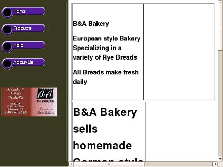 B &amp; A Bakery (780-476-8585) - Onglet de site Web - http://www.edmontonbakery.com