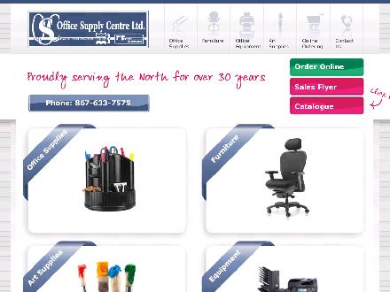 Office Supply Centre Ltd (867-633-7575) - Website thumbnail - http://www.yos-wbm.com/