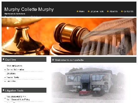 Murphy Collette Murphy (506-801-9938) - Website thumbnail - http://www.murco.nb.ca