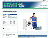 Appliance Surgeons (613-721-9014) - Website thumbnail - http://appliancesurgeon.ca