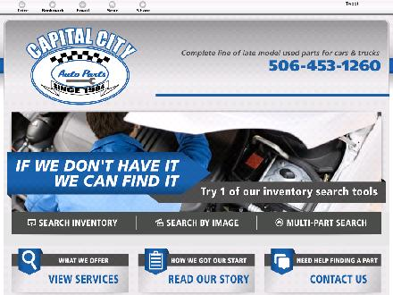 Capital City Auto Parts (1-866-270-1016) - Onglet de site Web - http://capitalcityautoparts.ca/