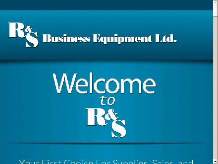 R & S Business Equipment Ltd (403-798-0969) - Website thumbnail - http://www.randsbus.ca