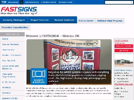 Fastsigns (519-948-8181) - Onglet de site Web - http://www.fastsigns.com/658
