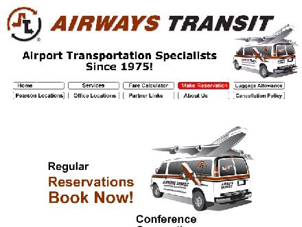 Airways Transit (519-886-2121) - Website thumbnail - http://www.airwaystransit.com