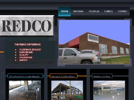 Redco Restoration Specialists Ltd (780-466-1820) - Website thumbnail - http://redcoconcreterestoration.ca