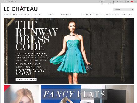 Lechateau.com - Onglet de site Web - http://www.lechateau.com