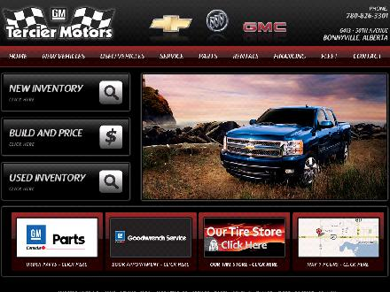 Tercier Motors Ltd (780-826-3301) - Website thumbnail - http://www.terciermotors.com