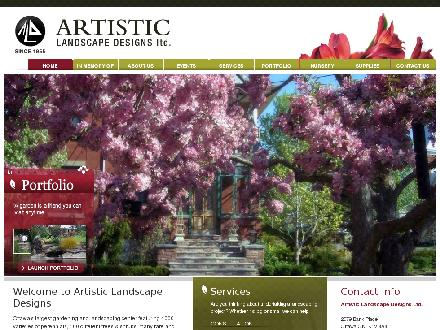 Artistic Landscape Designs Limited (613-733-8220) - Website thumbnail - http://artisticlandscape.on.ca/