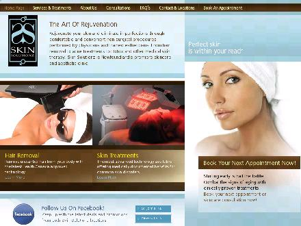 Skin Solutionz (709-738-0088) - Website thumbnail - http://www.skinsolutionz.com