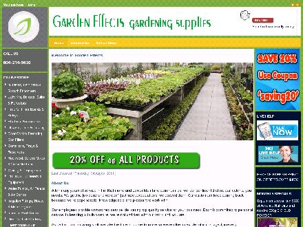 Garden Effects (604-214-6620) - Website thumbnail - http://www.gardeneffect.ca