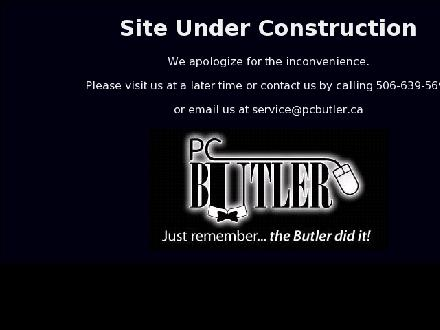 PC Butler (506-639-5693) - Website thumbnail - http://www.pcbutler.ca