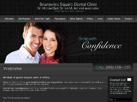 Brunswick Square Dental Clinic (506-658-1550) - Onglet de site Web - http://www.brunswicksquaredentalclinic.com