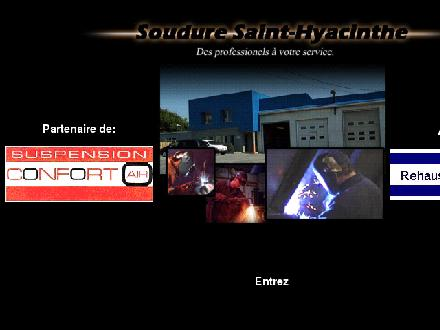 Soudure St-Hyacinthe Inc (450-774-7677) - Website thumbnail - http://www.souduresh.com