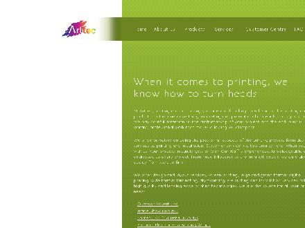 Arttec Advertising Inc (780-613-0130) - Onglet de site Web - http://www.arttec.ca