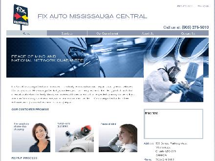 Fix Auto Mississauga Central (905-276-5010) - Website thumbnail - http://www.fixauto.com/mississauga-central/