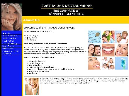 Fort Rouge Dental Group (204-284-8216) - Website thumbnail - http://www.fortrougedentalgroup.ca