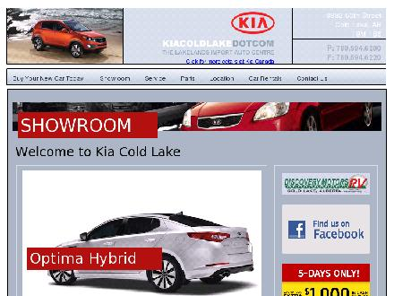 Kia Cold Lake (780-815-4154) - Website thumbnail - http://www.kiacoldlake.com