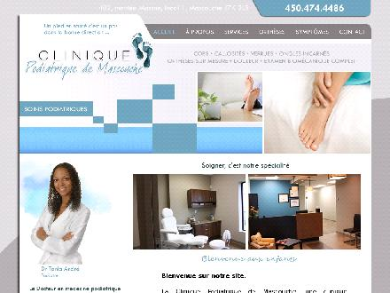 Clinique Podiatrique de Mascouche (450-914-0947) - Onglet de site Web - http://www.podiatremascouche.ca