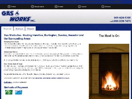 Gas Works Inc (905-628-5385) - Onglet de site Web - http://gasworksinc.ca