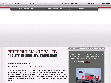 Peterbilt Manitoba Ltd (204-633-0071) - Onglet de site Web - http://www.peterbilt-truck.com