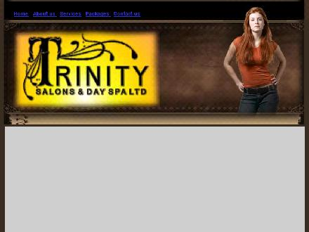 Trinity Salons &amp; Day Spa Ltd (780-791-1930) - Onglet de site Web - http://www.trinitysalons.ca