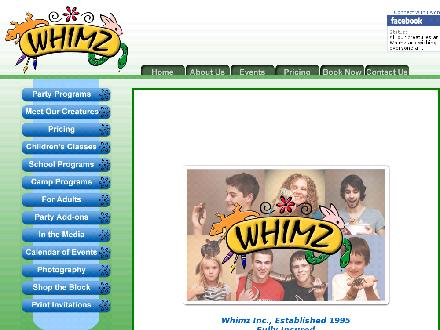Whimz Live Animal Programs (416-656-7894) - Website thumbnail - http://www.whimzonline.com