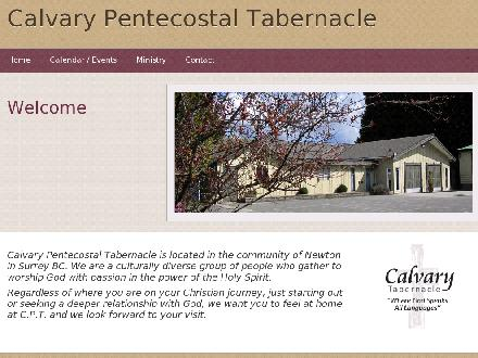 Calvary Pentecostal Tabernacle (604-590-5333) - Website thumbnail - http://www.caltab.ca