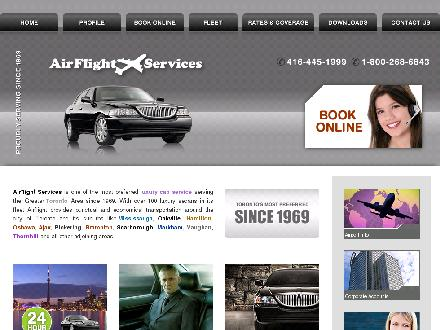 Airflight Services (416-445-1999) - Onglet de site Web - http://www.airflightservices.com
