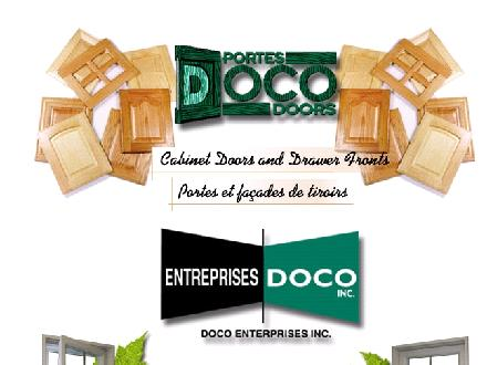 Entreprises Doco Inc (450-390-1337) - Website thumbnail - http://www.doco.ca
