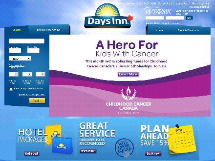 Days Inn &amp; Suites Thompson (204-778-6000) - Website thumbnail - http://daysinnthompson.com/