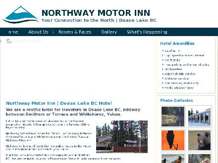 Northway Motor Inn (250-771-5341) - Onglet de site Web - http://www.northwaymotorinn.ca