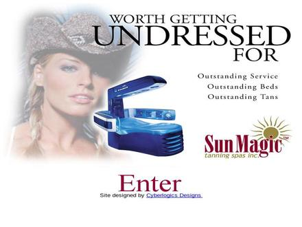 Sun Magic Tanning Spa (519-740-9006) - Website thumbnail - http://www.sunmagic.ca