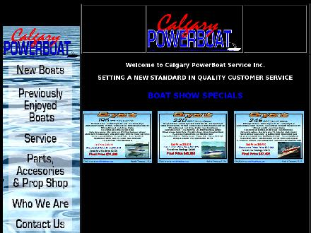 Calgary Powerboat Services Inc (403-203-1915) - Website thumbnail - http://www.calgarypowerboat.com/