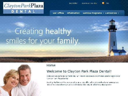 Clayton Park Plaza Dentistry (902-982-6669) - Website thumbnail - http://www.claytonparkplazadental.com