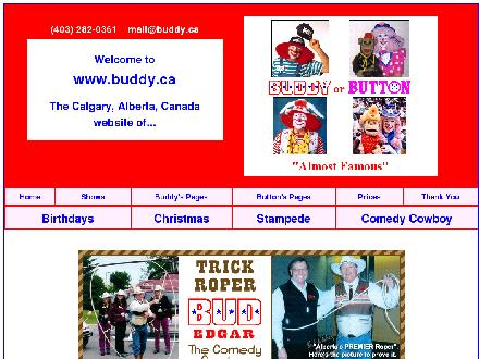 A Couple Of Real Clowns Buddy Or Button (403-282-0361) - Onglet de site Web - http://www.buddy.ca