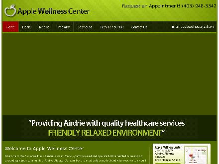 Apple Wellness Center (403-945-9647) - Onglet de site Web - http://www.applewellnesscenter.com