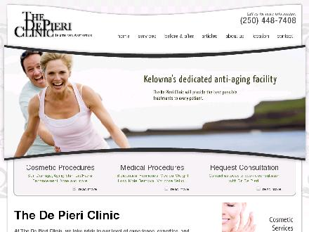 De Pieri Clinic The (250-448-7408) - Onglet de site Web - http://www.thedepiericlinic.com
