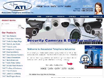 ATI Associated Telephone Industries (604-270-0135) - Onglet de site Web - http://www.associatedtelephone.com/